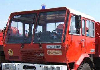 Camion-citerne pour feux de forêts, Armée de l'air, Gironde (33)