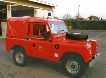 Véhicule de liaison, Service de sécurité incendie,  ()