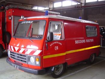 Véhicule de secours routier, Sapeurs-pompiers, Haute-Loire (43)