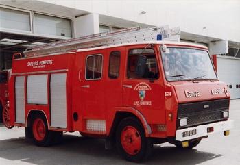 Fourgon-pompe tonne, Sapeurs-pompiers, Alpes-Maritimes (06)