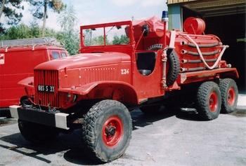 <h2>Camion-citerne pour feux de forêts - Gujan-Mestras - Gironde (33)</h2>