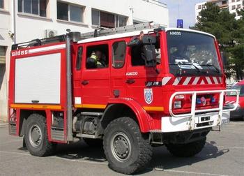 Fourgon-pompe tonne léger, Sapeurs-pompiers, Corse-du-Sud (2A)