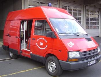 Véhicule pour interventions en milieu périlleux, Sapeurs-pompiers, Haute-Loire (43)