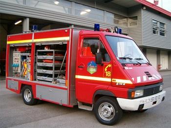 Véhicule de secours routier, Sapeurs-pompiers, Jura (39)