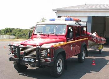 Véhicule de liaison, Sapeurs-pompiers, Morbihan (56)
