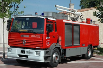 Véhicule mousse, Sapeurs-pompiers, Bouches-du-Rhône (13)
