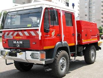<h2>Camion-citerne pour feux de forêts - Molsheim - Bas-Rhin (67)</h2>