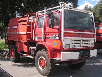 Camion-citerne pour feux de forêts, Formations militaires de la Sécurité civile, Haute-Corse