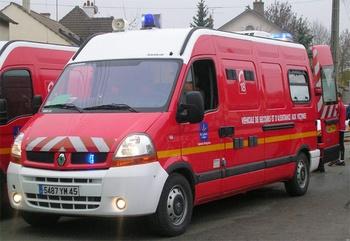 Véhicule de secours et d'assistance aux victimes, Sapeurs-pompiers, Loiret (45)