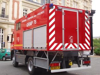 Véhicule pour interventions en milieu périlleux, Sapeurs-pompiers, Yvelines