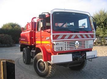 Camion-citerne pour feux de forêts, Sapeurs-pompiers, Haute-Corse