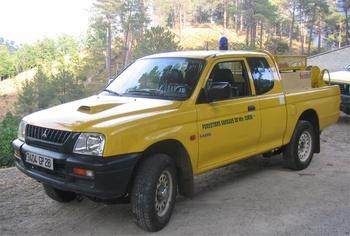 Camion-citerne pour feux de forêts léger, Défense des forêts contre les incendies, Haute-Corse (2B)