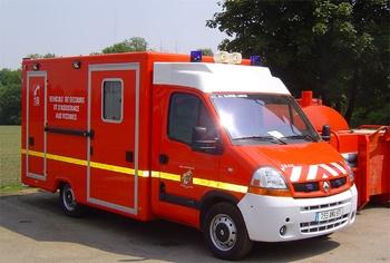<h2>Véhicule de secours et d'assistance aux victimes - Sarre-Union - Bas-Rhin (67)</h2>