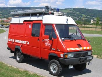 <h2>Véhicule poste de commandement - Epagny - Haute-Savoie (74)</h2>