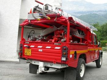 Véhicule de première intervention, Sapeurs-pompiers, Haute-Savoie