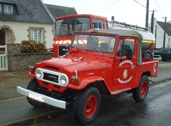 Véhicule de liaison, Sapeurs-pompiers, Finistère (29)