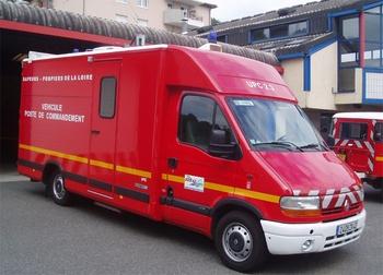 Véhicule poste de commandement, Sapeurs-pompiers, Loire (42)