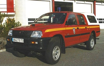 Véhicule de liaison, Sapeurs-pompiers, Savoie