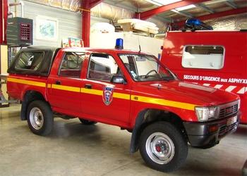 Véhicule de liaison, Sapeurs-pompiers, Savoie (73)