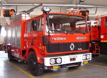 Véhicule mousse, Sapeurs-pompiers, Haut-Rhin (68)