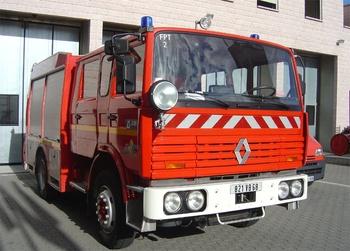 Fourgon-pompe tonne, Sapeurs-pompiers, Haut-Rhin (68)