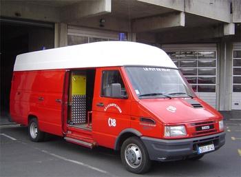 Véhicule d'assistance respiratoire, Sapeurs-pompiers, Haute-Loire (43)