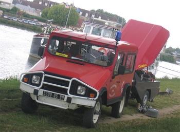 Véhicule de liaison, Sapeurs-pompiers, Yonne (89)