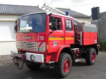 Camion-citerne pour feux de forêts, Sapeurs-pompiers, Calvados