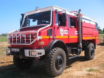 Camion-citerne pour feux de forêts, Sapeurs-pompiers, Isère