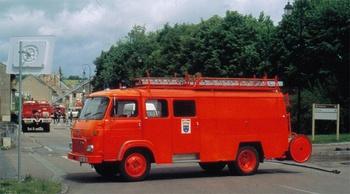 <h2>Fourgon d'incendie - Corbigny - Nièvre (58)</h2>