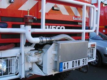 Camion-citerne pour feux de forêts, Sapeurs-pompiers, Essonne (91)