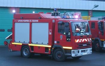 Véhicule de secours routier, Sapeurs-pompiers, Essonne