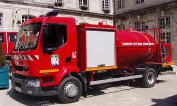 <h2>Véhicule de transport de liquide émulseur - Ligny-en-Barrois - Meuse (55)</h2>