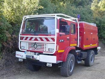 Camion-citerne pour feux de forêts, Sapeurs-pompiers, Corse-du-Sud (2A)
