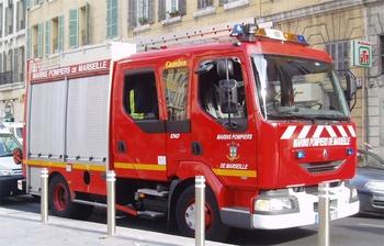 Fourgon-pompe tonne, Marins-pompiers de Marseille, Bouches-du-Rhône (13)