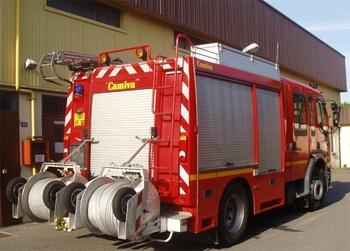 Fourgon-pompe tonne, Sapeurs-pompiers, Oise (60)