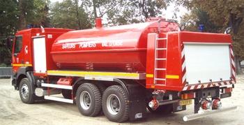 Camion-citerne de grande capacité, Sapeurs-pompiers, Val-d'Oise (95)