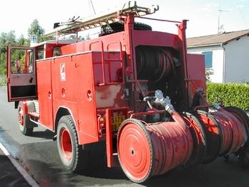 Fourgon-pompe tonne, Sapeurs-pompiers, Deux-Sèvres (79)