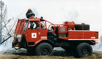 <h2>Camion-citerne pour feux de forêts - Salles - Gironde (33)</h2>