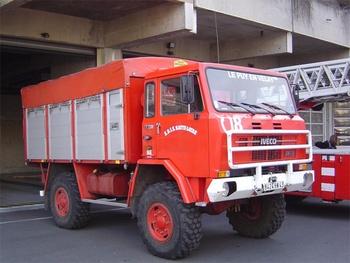 Dévidoir automobile, Sapeurs-pompiers, Haute-Loire (43)