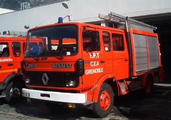 Fourgon-pompe tonne, Service de sécurité incendie, Isère (38)