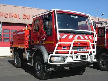 <h2>Camion-citerne pour feux de forêts - Brioude - Haute-Loire (43)</h2>