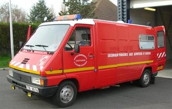 <h2>Véhicule de secours et d'assistance aux victimes - Grandcamp Maisy - Calvados (14)</h2>