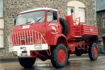 Camion-citerne pour feux de forêts, Sapeurs-pompiers, Ardennes (08)