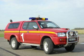 Véhicule de commandement et de liaison, Service de sauvetage et de lutte contre l'incendie des aéronefs, Oise (60)