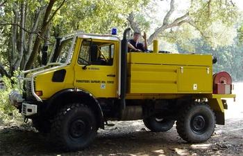 Camion-citerne pour feux de forêts, Défense des forêts contre les incendies, Haute-Corse (2B)