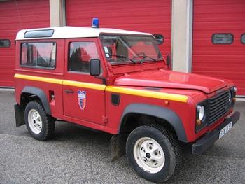 Véhicule de liaison, Sapeurs-pompiers, Manche (50)