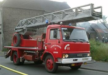 Echelle pivotante, Sapeurs-pompiers, Nord (59)