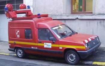 Véhicule de protection et de sécurité, Sapeurs-pompiers, Loire (42)