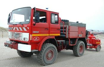 Camion-citerne pour feux de forêts, Sapeurs-pompiers, Pas-de-Calais (62)